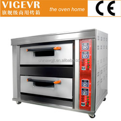 Energy Saving Luxury series WG-H-40D 2 deck commercial steam oven with good price