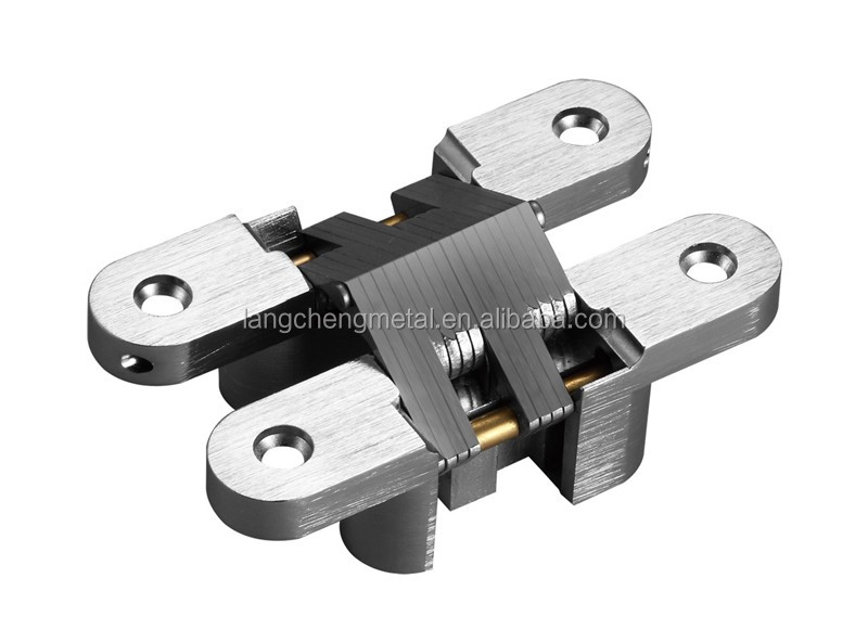 118MM 180 degree heavy duty concealed cross hinges