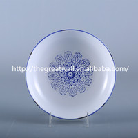 "5""7""9"" archaistic blue white chinese ceramic soup plate, for tableware, dinnerware,daily use"
