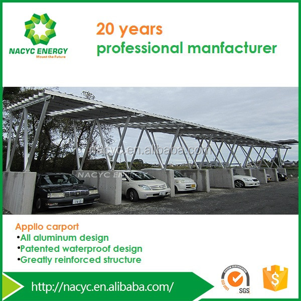 PV Carport/ Solar Power System / On grid/ New Products