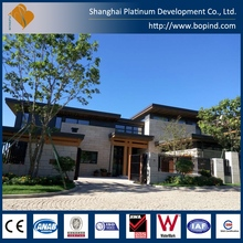 top quality light steel prefab modular house kits supplied in China