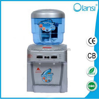 Wholesale 7 stage purification Hot and cold mini water dispenser desktop for South Africa retailer, importer, distributor