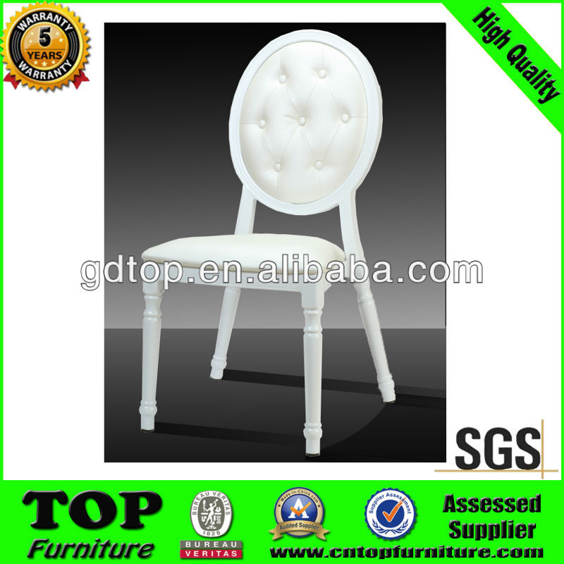 Quality Ambassador Aluminum Imitated Wooden Chair