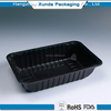 Customizing Factory price Microwaveable Plastic Food Tray