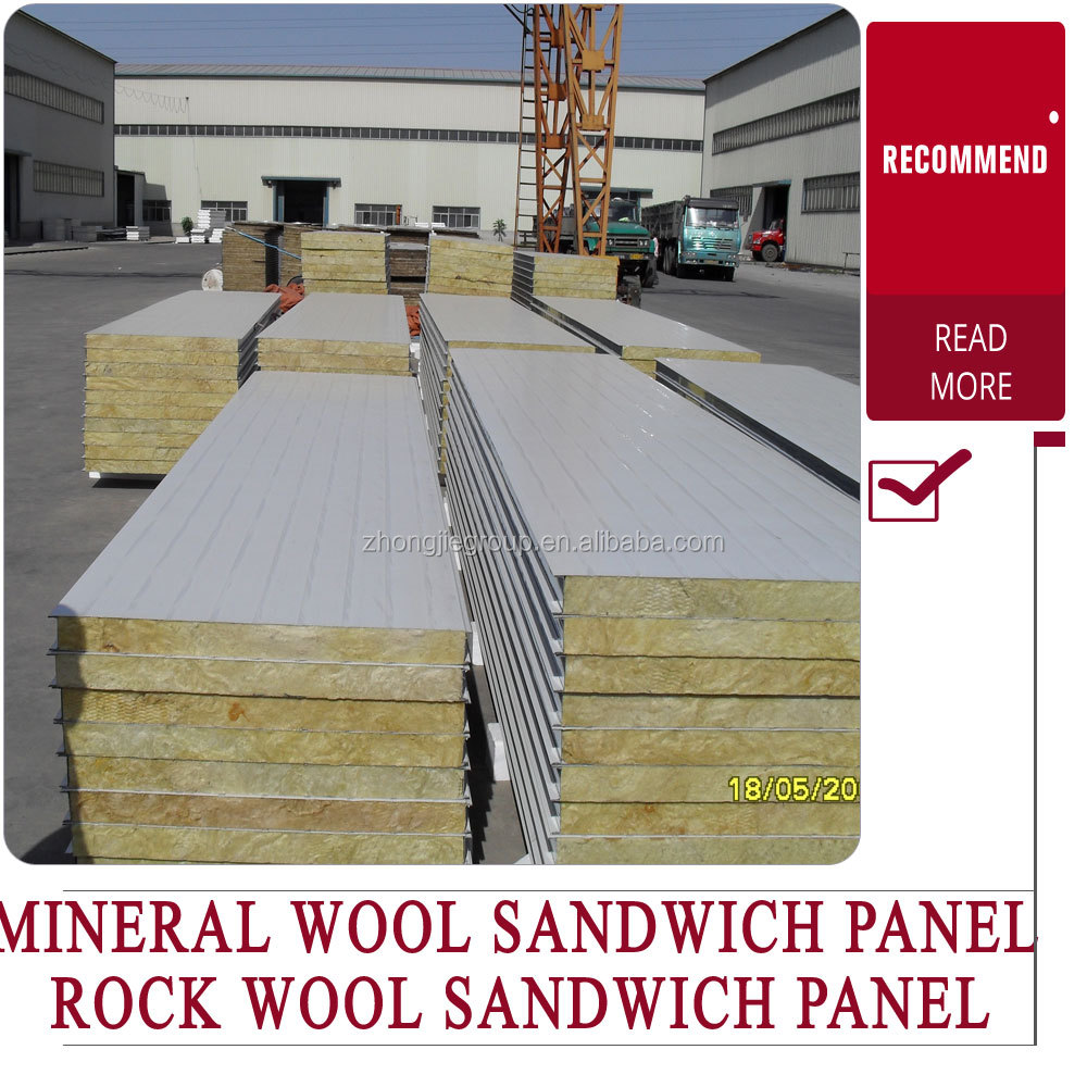mobile home ceiling panel insulation rockwool sandwich panel