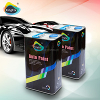 Guangdong supplied high gloss 2k clear coat/varnish car paint refinish for repair