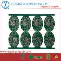 CEM-1 material Single sided Sn Hasl Logitech mouse pcb Mouse pcb with leadfree
