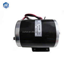 Promotional Prices Beautiful MY1020 Brushed Motor For Electric Bicycle
