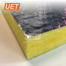 Aluminum Foil Faced Glass Wool Duct Board for HVAC Insulation