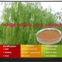 Anti-inflammatory white willow bark extract