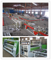 Shandong China manufacturer pvc decorative ceiling machine/ double paper laminating machine