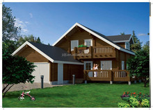 new design GRC decking prefab houses