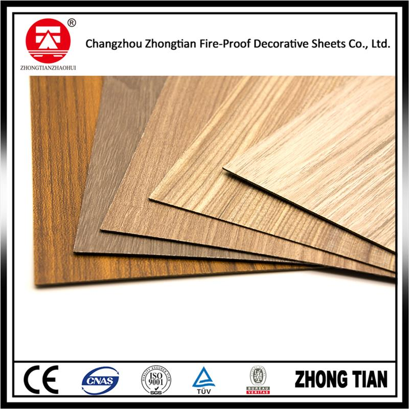 Professional wood grain phenolic wall panel with low price