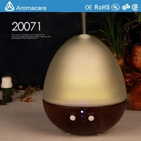 2015 new scent newest wood & glass Ultrasonic LED aroma diffuser
