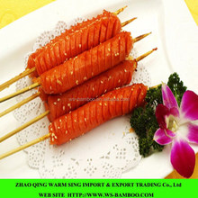 natural BBQ bamboo sticks, hot dog sticks