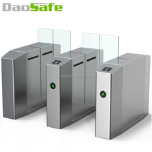High Security RFID Card Access Control Optical Sliding Turnstile Gate