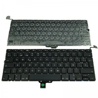 "Genuine New for MacBook Pro 13"" Unibody A1278 US Layout Keyboard Black 2009 2010 2011"