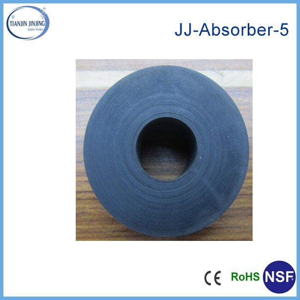 top quality customized EPDM rubber bungs with hole