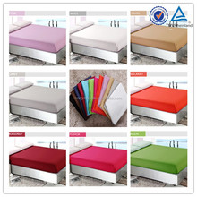 Soft colorful Egyptian Cotton Cheap fitted bed sheets