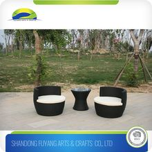 Garden Rattan Sets Glass Top Rattan Coffee Table And Chairs
