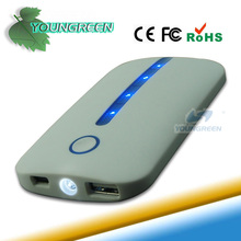 Great Valued LED Cheap 4000mAh White Powerbank Suppliers