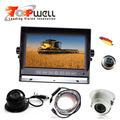 New 7inch Touch Button Monitor Rear View System With HD Night Vision Waterproof Camera