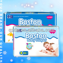 Disposable Soft Cotton Good Quality and Cheap Price baby diapers in bulk(JHC008)