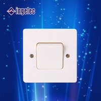European Style Flush Mounting One Gang One Way Wall Switch