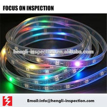china guandong led strap in zhongshan inspection service