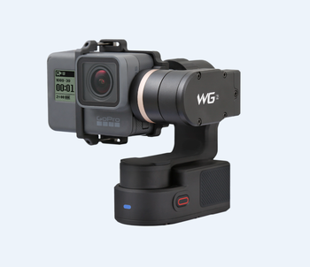 FeiyuTech wearable black gimbal WG2 for GoPr o Her o 5/4/3/3+ and other actioncam