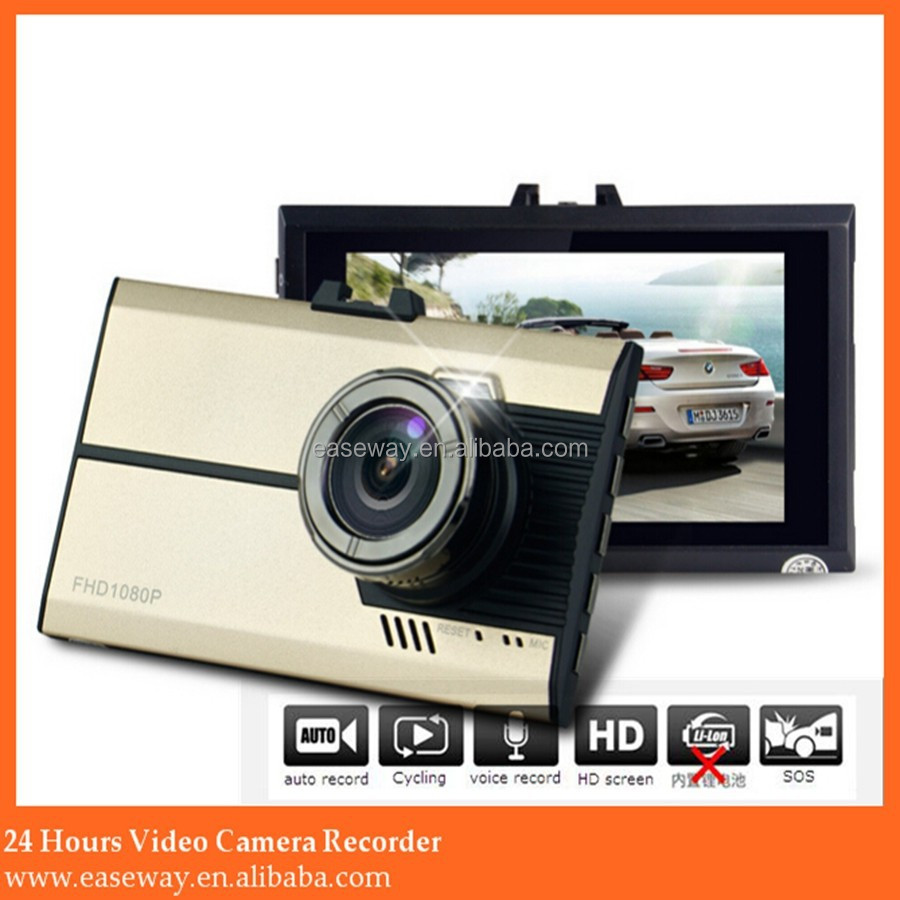 <strong>K</strong>-2400 1080p 4-channel car dvr with 3g, wide angle full HD vehicle DVR,Dash cam