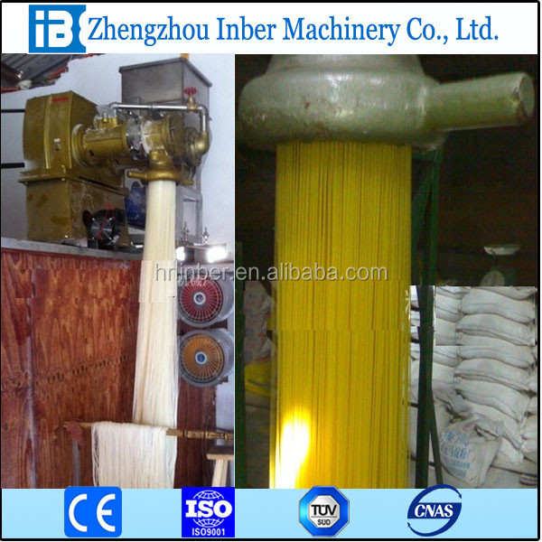 industrial used machine to make shrimp crakers Vermicelli korea new year rice cake