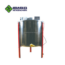 Hengdaunion beekeeping equipment 6 frames stainless steel horizontal machine auto electric honey extractor