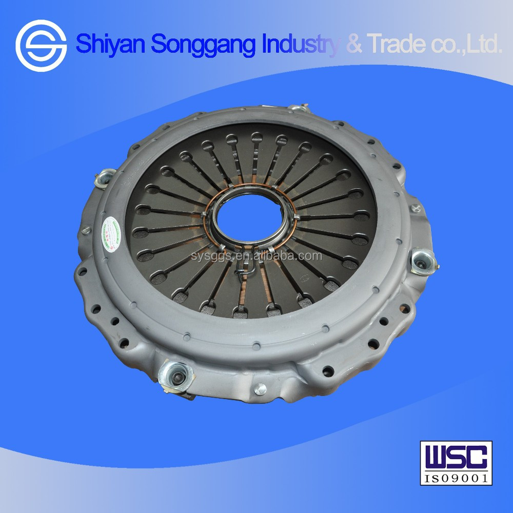 Dongfeng Heavy Truck L375 D375 Clutch Kits Clutch Pressure Plate with Cover Assembly 1601090-ZB7C0