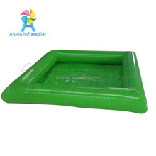 2017 Popular Kids Water Pool Games PVC large rectangle inflatable pool for rental Commercial