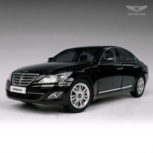 Hyundai Genesis 1/18 diecast model car