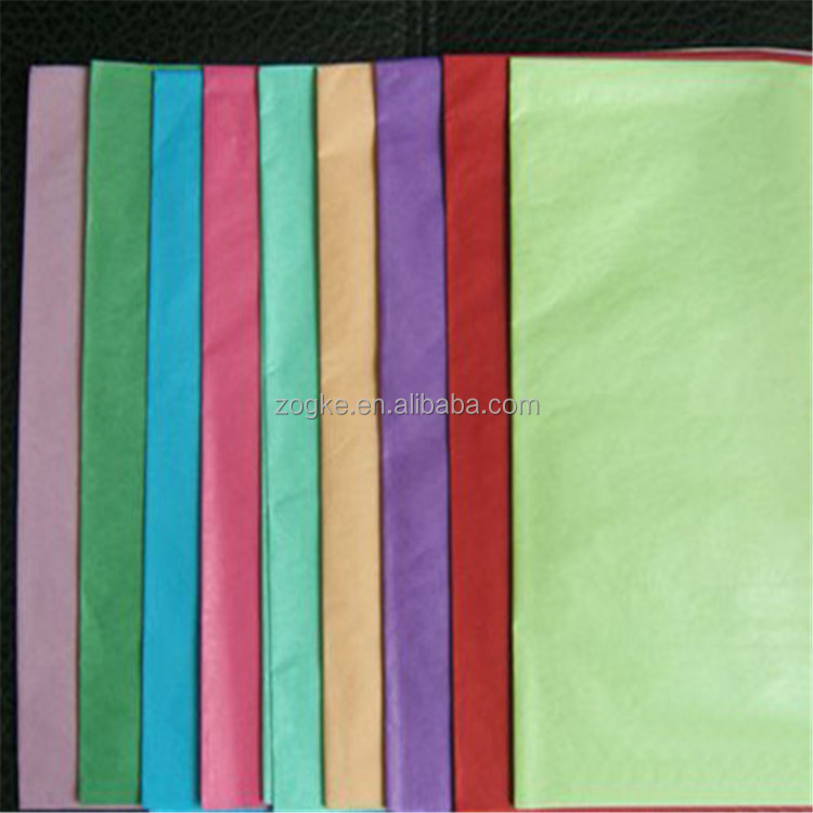 Color tissue paper/China manufacturer paper tissue