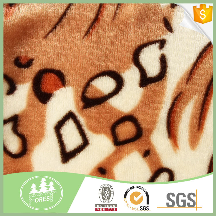 China Manufacturers cheap polar fleece fabric custom printed blankets