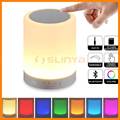 7 Colors Changeable Powerful 3W Portable Night Light Bluetooth Speaker
