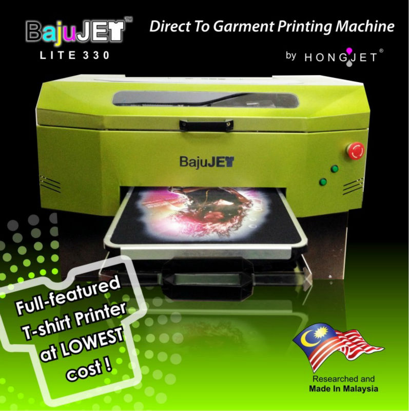 BajuJET - T-shirt Printer with White Ink