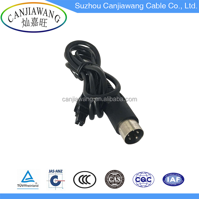 4 Pin Male Plug to 4 Pin Connector Graphics External Power Cord Cable assembly