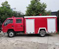 Foton Forland new model fire engine standard size of fire truck used in forest mining construction