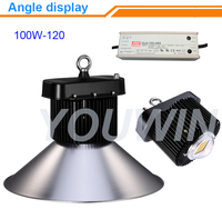 Ali08 shenzhen factory new skyle hanging energy saving long life 100w-230w cob led high bay lamp