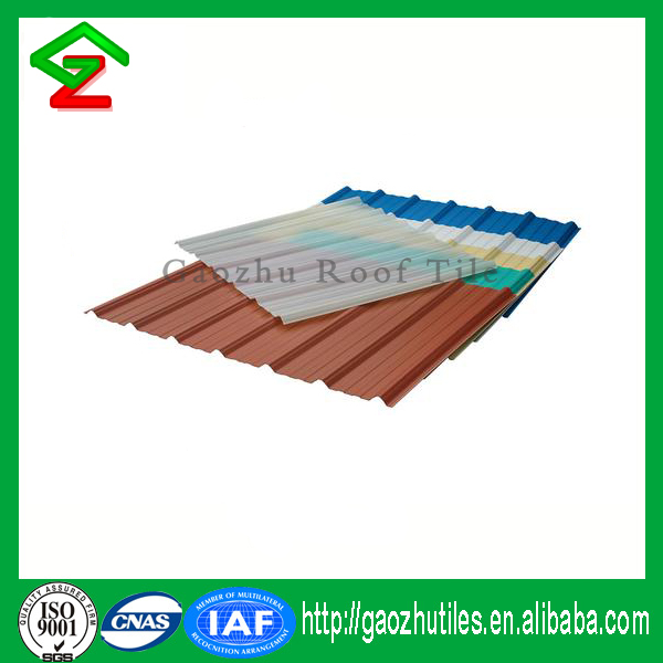 Fireproof Waterproof Corrugated Plastic UPVC Roof Sheet