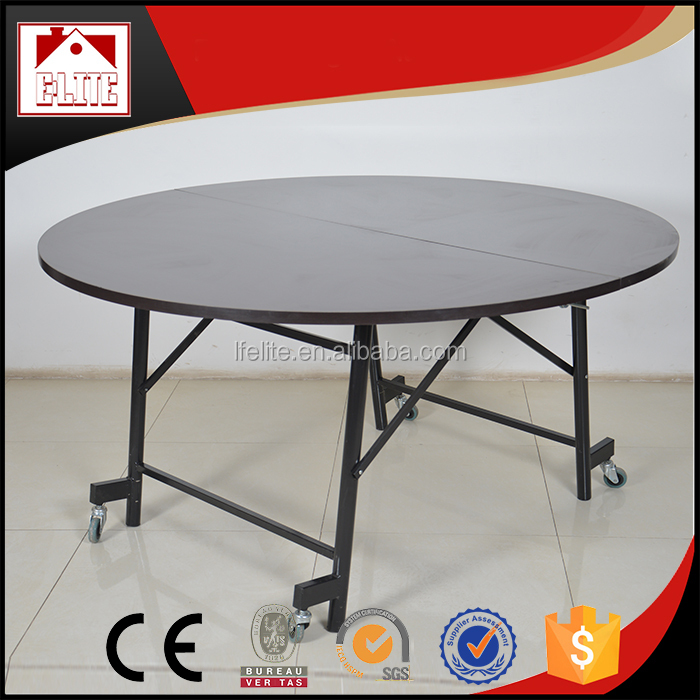 Used round banquet tables for sale,hotel dining table EZ-08