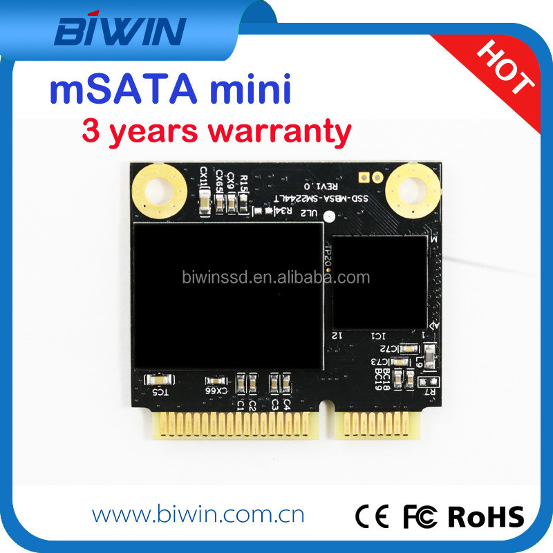 8GB mSATA MLC MINI PCIE SSD Solid State Disk/Drive for game player