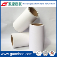 acrylic thermal self adhesive custom scale printing label in jumbo roll