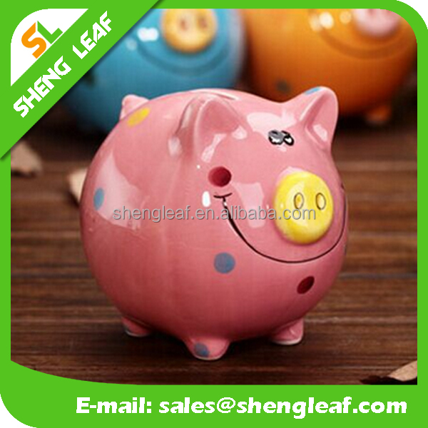 Custon Ceramic Piggy Bank For Gift Buy Piggy Banks Piggy
