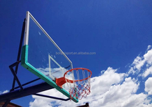 Bolipai expert experienced high quality tempered glass basketball backboard