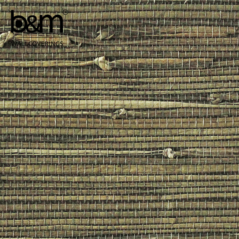 Grass Weave Wallcoverings Grasscloth hand made Wallpaper textured natural wallcoverings